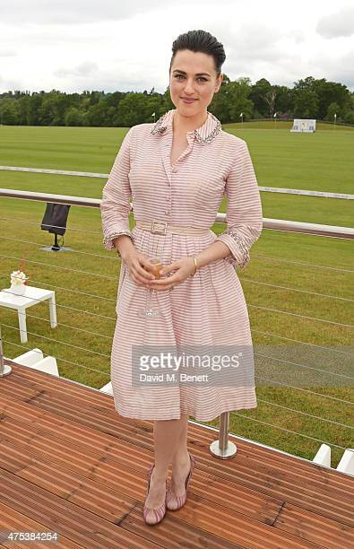 Katie McGrath attends day two of the Audi Polo Challenge at Coworth Park on May 31 2015 in London England