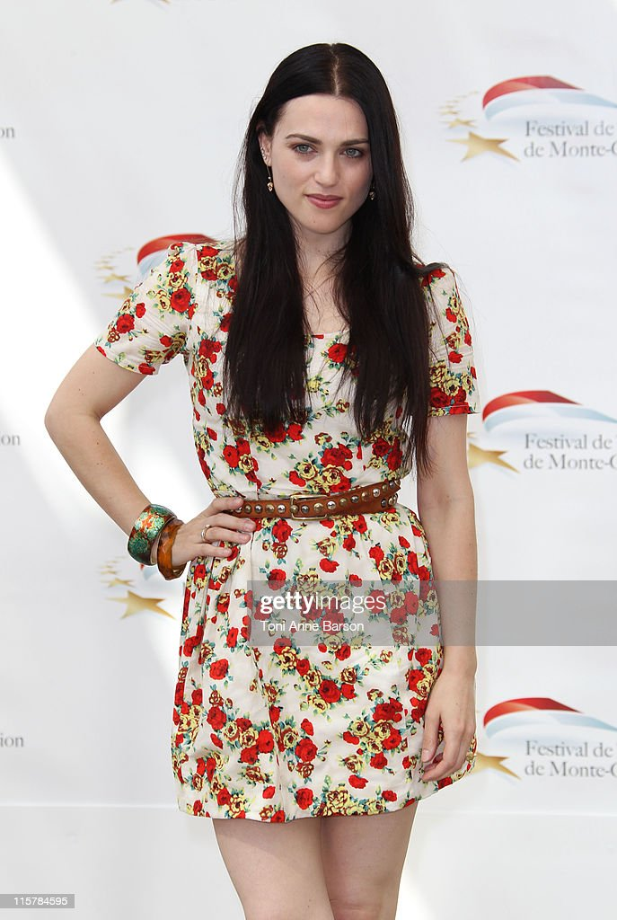 Katie McGrath attends Photocall for 'The Adventures Of Merlin' during the 51st Monte Carlo TV Festival on June 10, 2011 in Monaco, Monaco.
