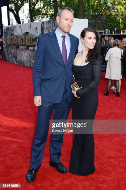 Katie McGrath attends the European premiere of 'King Arthur Legend of the Sword' at Cineworld Empire on May 10 2017 in London United Kingdom