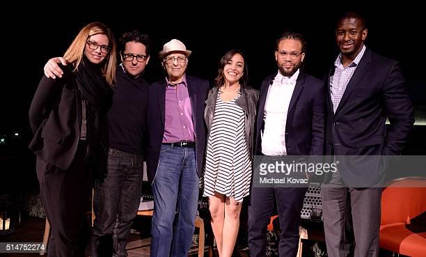 Katie McGrath director JJ Abrams producer Norman Lear Rock the Vote Political and Field Director Sarah Audelo Black List Founder/CEO Franklin Leonard...