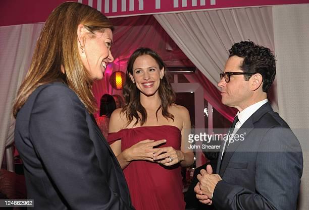 Katie McGrath Host Jennifer Garner and director JJ Abrams attend Elyse Walker Presents Pink Party '11 Hosted By Jennifer Garner To Benefit...