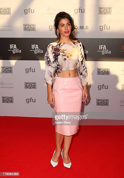 Katie Melua arrives for the IFA 2013 Consumer Technology Trade Fair Opening Gala at Messe Berlin on September 5 2013 in Berlin Germany