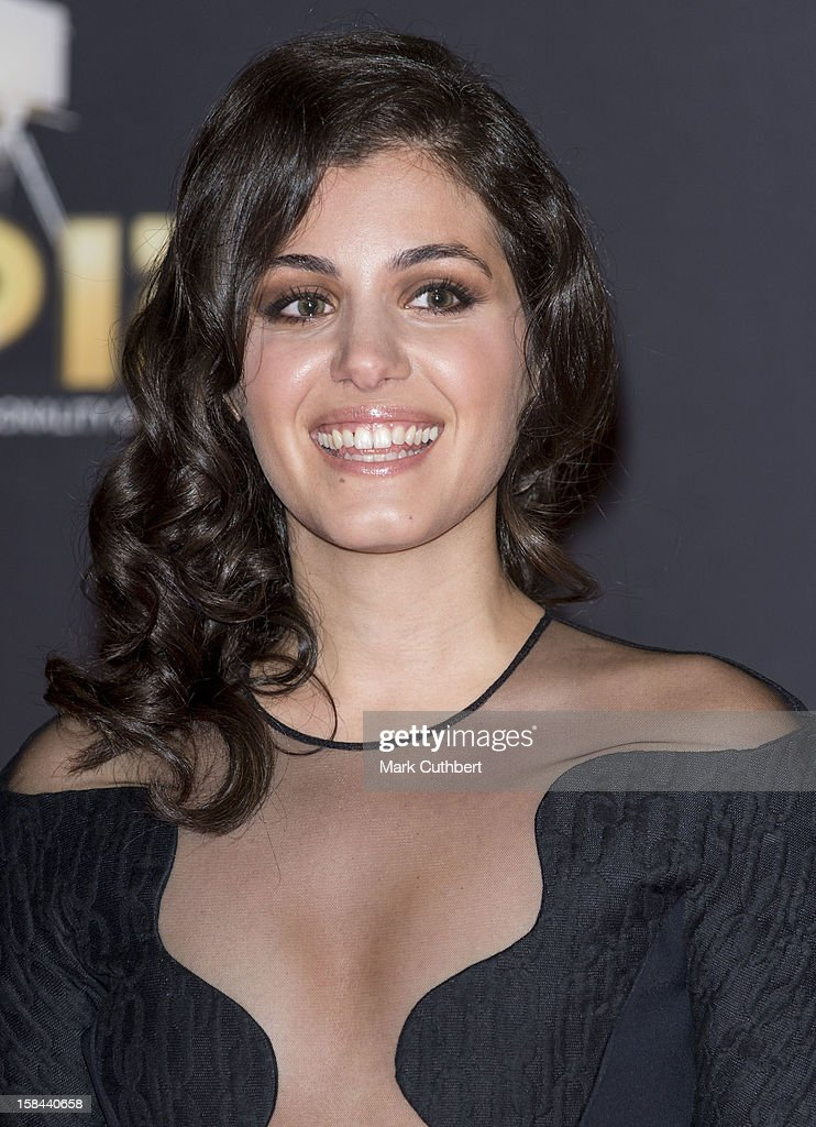 Katie Melua attends the BBC Sports Personality Of The Year Awards at ExCel on December 16, 2012 in London, England.