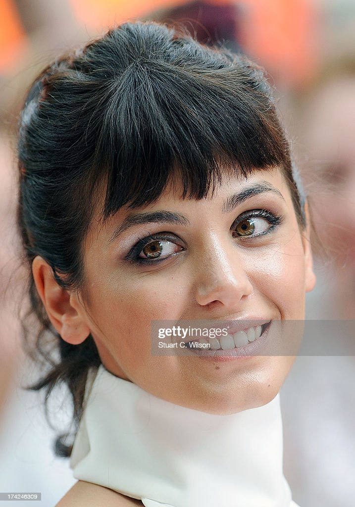 Katie Melua attends the European Premiere of 'Red 2' at Empire Leicester Square on July 22, 2013 in London, England.
