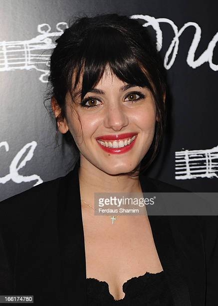 Katie Melua attends the press night for new musical 'Once' at Phoenix Theatre on April 9, 2013 in London, England.
