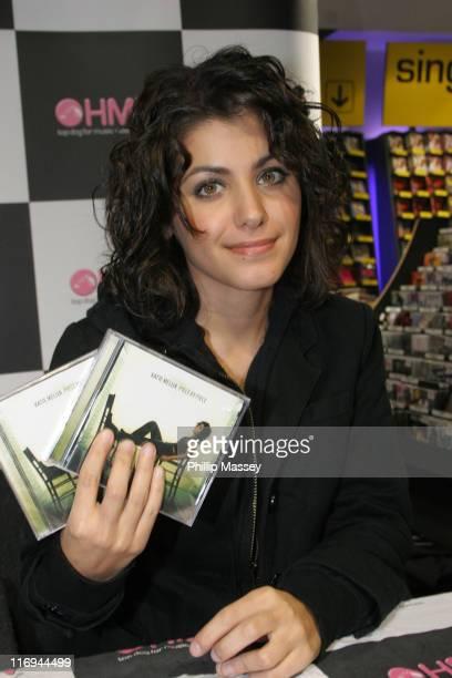 Katie Melua during Katie Melua CD Signing of Her New Album 'Piece By Piece' at HMV Dublin October 7 2005 at HMV Dublin in Dublin Ireland