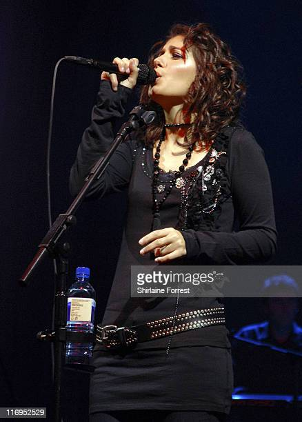 Katie Melua during Katie Melua in Concert at the Manchester Evening News Arena January 27 2006 at Manchester Evening News Arena in Manchester Great...