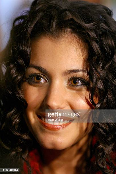 Katie Melua during 'Live Aid' DVD Launch at The Odeon Cinema in London United Kingdom