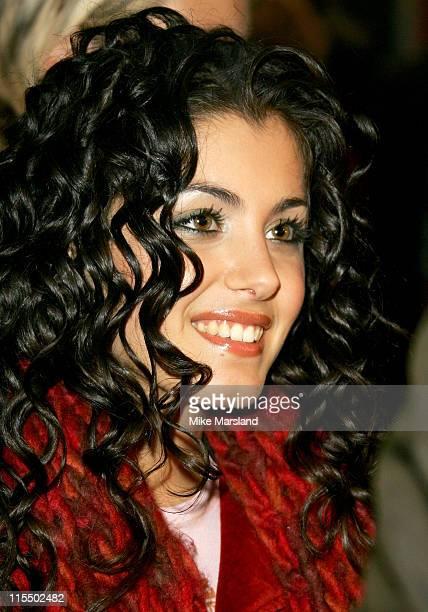 Katie Melua during 'Live Aid' DVD Launch Screening at Odeon Kensington in London Great Britain