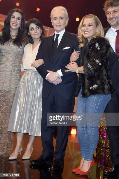 Katie Melua Jose Carreras Anastacia Lyn Newkirk attends the 23th Annual Jose Carreras Gala on December 14 2017 in Munich Germany