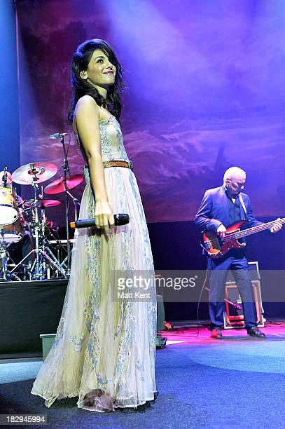 Katie Melua performs at The Roundhouse on October 2 2013 in London England