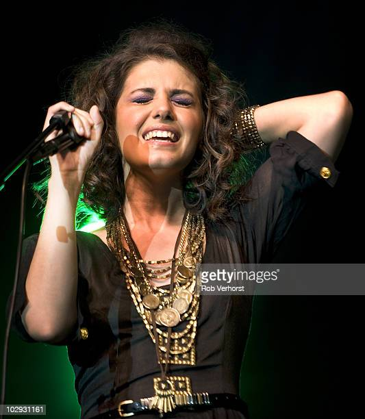 Katie Melua performs on stage during the North Sea Jazz Festival at Ahoy on July 11 2010 in Rotterdam Netherlands