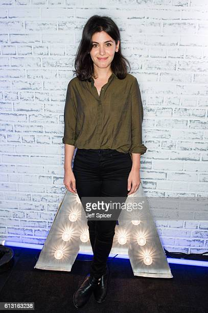 Katie Melua takes part in the BUILD series LONDON at AOL London on October 7 2016 in London England