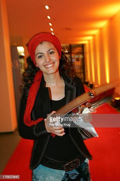 Katie Melua To The 14th Ceremony Of Music Prize The German Phonographic Academy echo In Estrel Convention Center in Berlin