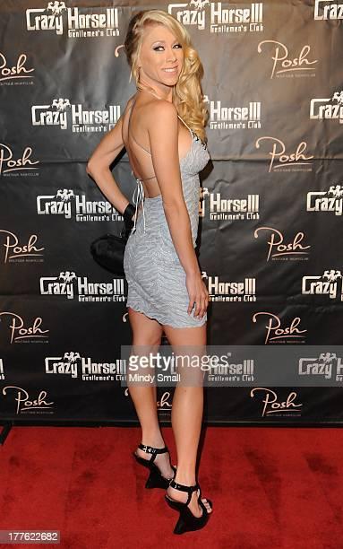 Katie Morgan arrives at Crazy Horse III Gentlemen's Club on August 24 2013 in Las Vegas Nevada