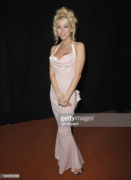 Katie Morgan during 2006 AVN Awards Arrivals and Backstage at The Venetian Hotel in Las Vegas Nevada United States