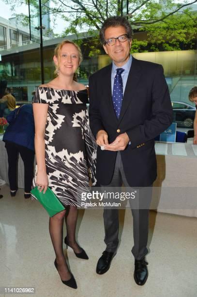 Katie Murtha and Lorenzo Lorenzotti attend Juilliard Spring 2019 Gala at Peter Jay Sharp Theater on May 1 2019 in New York
