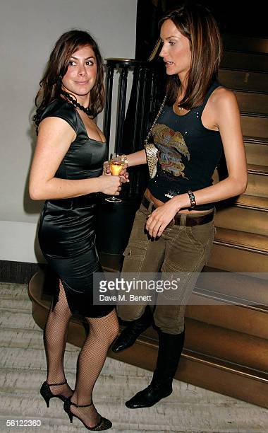 Katie Nichols and Lisa Butcher attend The Vogue Motorola List launch party, launching the magazine?s December supplement detailing what's supposedly...