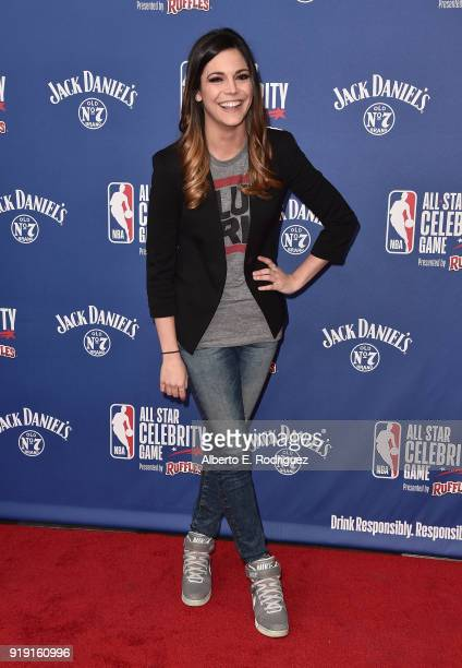 Katie Nolan attends the NBA AllStar Celebrity Game 2018 at Verizon Up Arena at LACC on February 16 2018 in Los Angeles California