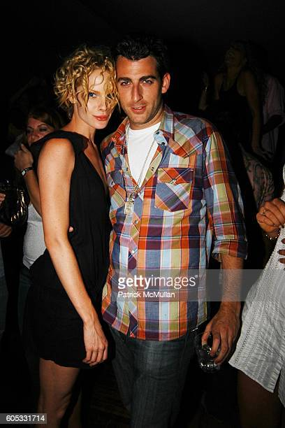 Katie Nuala and Mark Birnbaum attend DJ Cassidy and Fonzworth Bentley Host BUNNY CHOW Sunday at CAIN Southampton Club on May 28 2006 in Southampton NY