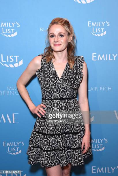 Katie O'Brien attends Raising Our Voices Supporting More Women in Hollywood Politics at Four Seasons Hotel Los Angeles in Beverly Hills on February...