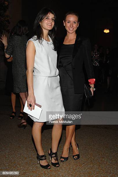 Katie Opalich and Emily Threlkeld attend NINA RICCI and OLIVIER THEYSKENS host The Opening of The Joyce and Robert Menschel Hall for Modern...
