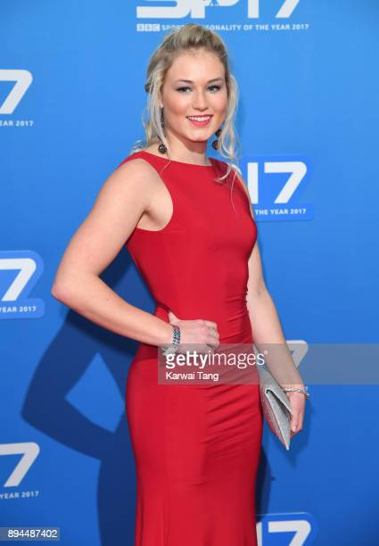 Katie Ormerod attends the BBC Sports Personality of the Year 2017 Awards at the Echo Arena on December 17 2017 in Liverpool England