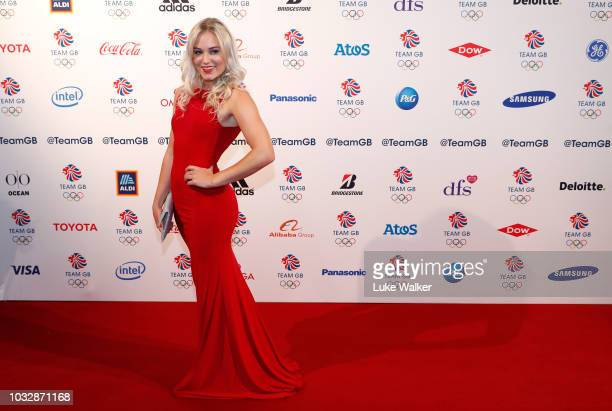 Katie Ormerod attends The Team GB Ball 2018 held at The Royal Horticultural Halls on September 13 2018 in London England