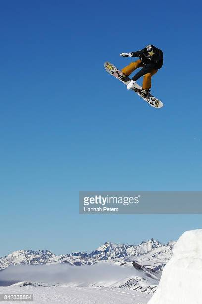 Katie Ormerod of Great Britain competes during Winter Games NZ FIS Women's Snowboard World Cup Slopestyle Finals at Cardrona Alpine Resort on...