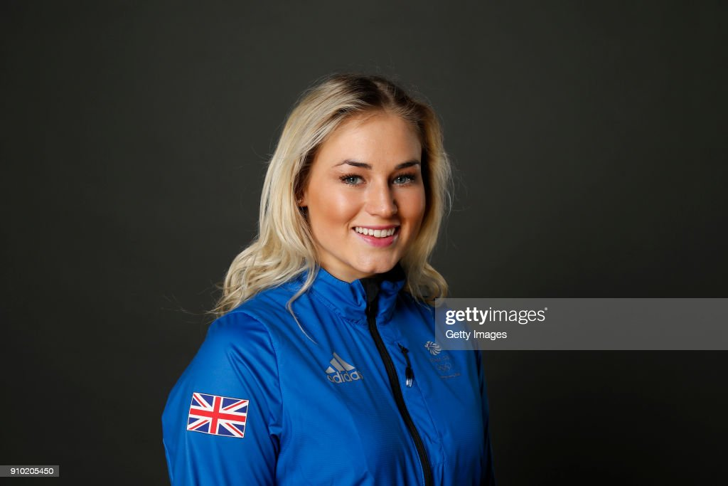 Katie Ormerod poses at The Team GB Kitting Out Ahead Of Pyeongchang 2018 Winter Olympic Games on January 24, 2018 in Stockport, England.