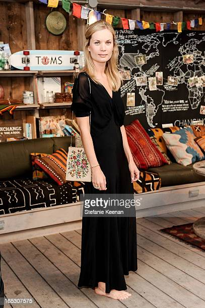 Katie Parfet attends TOMS and the Windish Agency private preparty for TOMS One Day Without Shoes at TOMS Flagship Store on April 2 2013 in Venice...