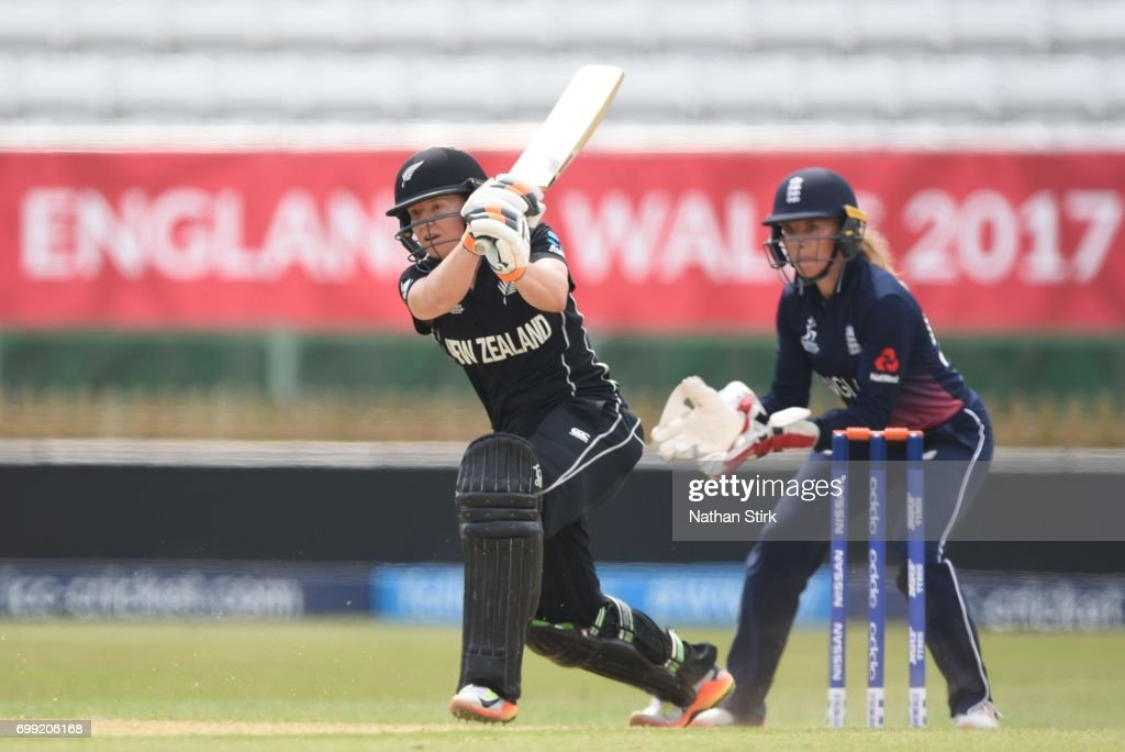 ICC Women's World Cup Warm Up Match - England vs New Zealand