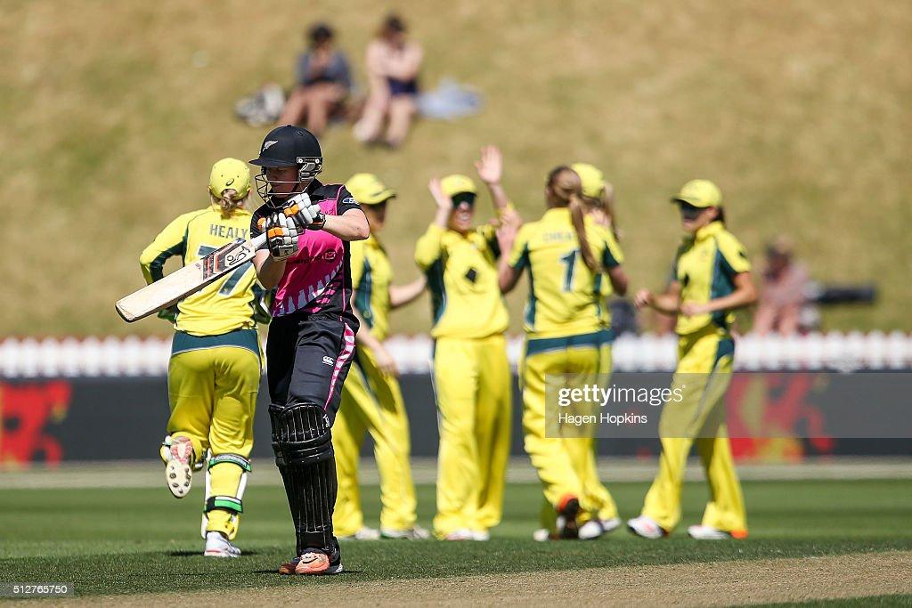 Womens T20 - New Zealand v Australia