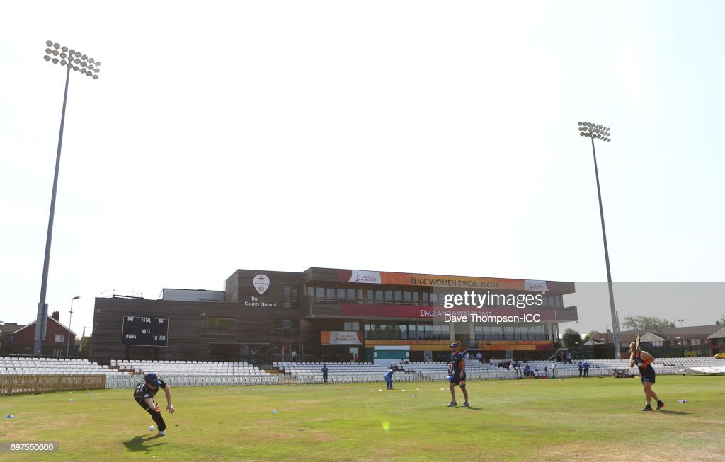 ICC Women's World Cup Warm Up Match - New Zealand vs India