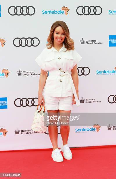 Katie Piper arrives at the Audi Sentebale Concert at Hampton Court Palace on June 11 2019 in London England