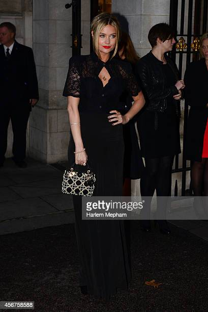 Katie Piper arrives at the Grosvenor House Hotel for the pride of britain awards on October 6 2014 in London England