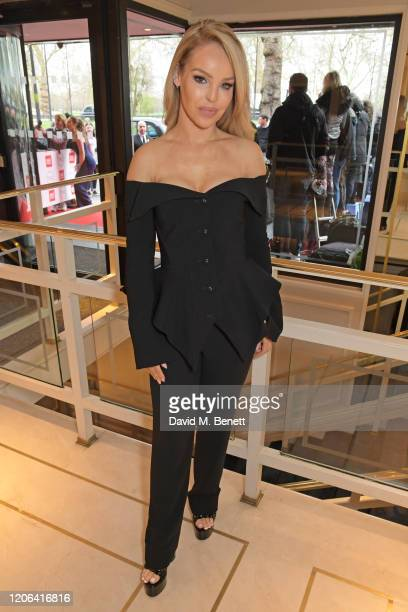 Katie Piper arrives at the TRIC Awards 2020 at The Grosvenor House Hotel on March 10 2020 in London England