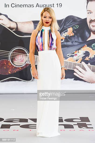 Katie Piper arrives for the World premiere David Brent Life On The Road at Odeon Leicester Square on August 10 2016 in London England