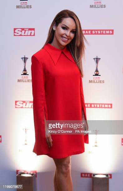 Katie Piper at The Sun Military Awards 2020 held at the Banqueting House London