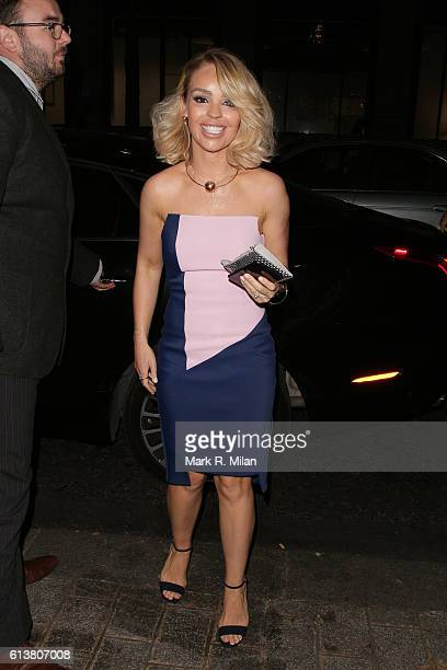 Katie Piper attending the Attitude magazine awards on October 10 2016 in London England