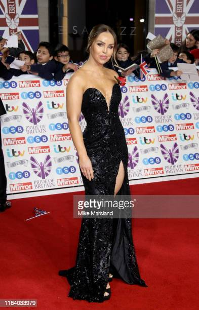 Katie Piper attends Pride Of Britain Awards 2019 at The Grosvenor House Hotel on October 28 2019 in London England