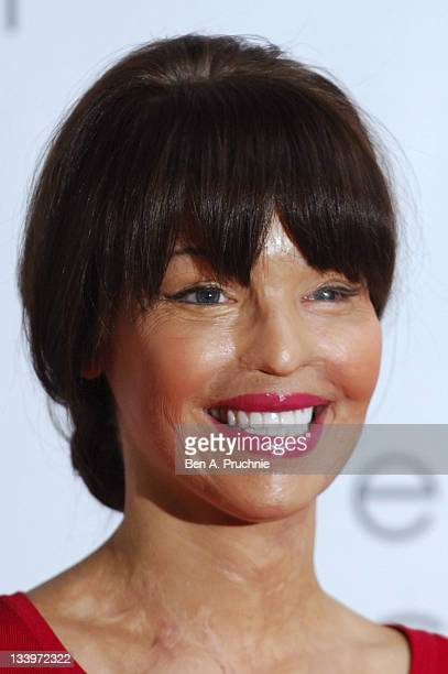 Katie Piper attends Red's Hot Women Awards celebrating the achievements of women in the workplace at St Pancras Renaissance Hotel on November 23 2011...