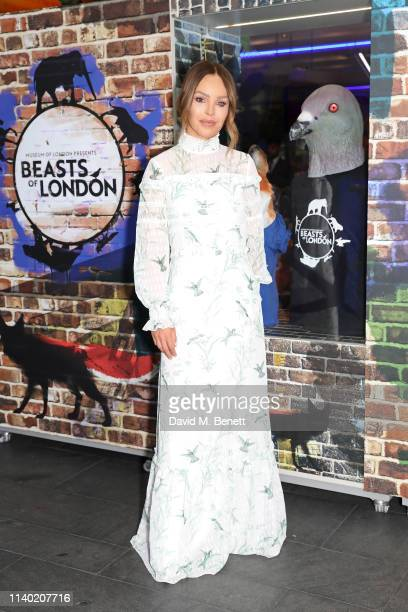 Katie Piper attends the Beasts of London event at the Museum Of London on April 03 2019 in London England