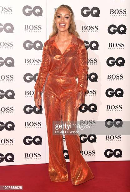 Katie Piper attends the GQ Men of the Year awards at the Tate Modern on September 5 2018 in London England