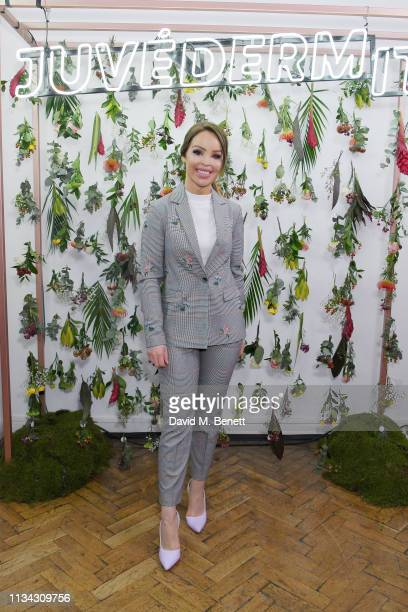 Katie Piper attends the launch of Juvederm Beauty Decoded Live at One Marylebone on March 07 2019 in London England
