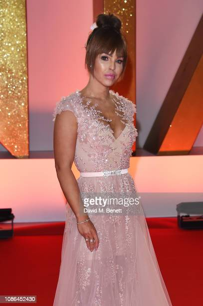Katie Piper attends the National Television Awards held at The O2 Arena on January 22 2019 in London England