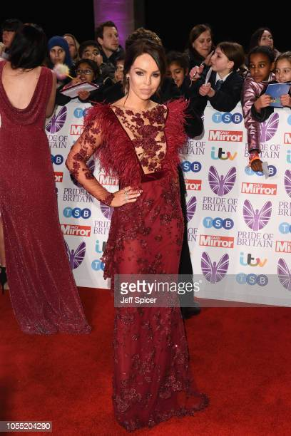 Katie Piper attends the Pride of Britain Awards 2018 at The Grosvenor House Hotel on October 29 2018 in London England