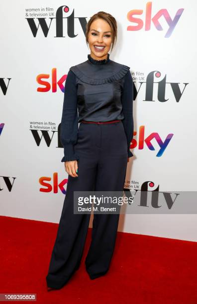 Katie Piper attends the Sky Women in Film and Television UK Awards 2018 at the London Hilton on December 7 2018 in London England