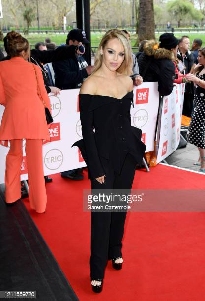 Katie Piper attends the TRIC Awards 2020 at The Grosvenor House Hotel on March 10 2020 in London England