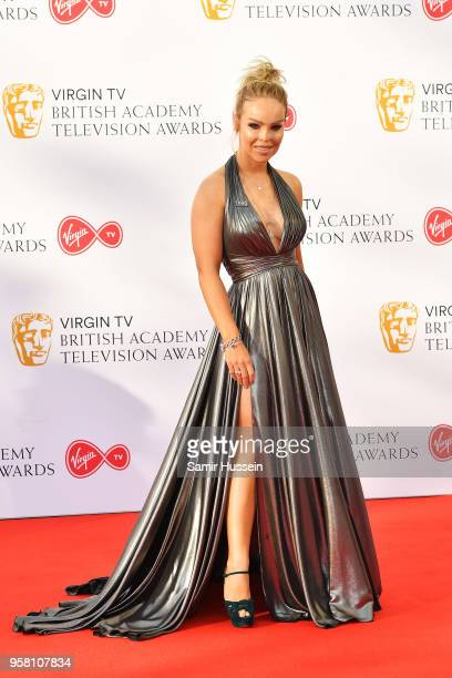 Katie Piper attends the Virgin TV British Academy Television Awards at The Royal Festival Hall on May 13 2018 in London England